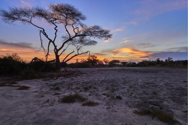 Sonnenuntergang Zimbabwe