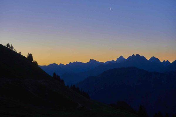 Sonnenaufgang Fellhorn