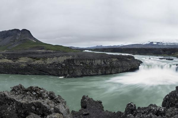 Wasserfall Þjofafoss, Island