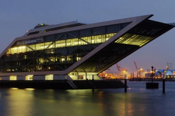 Dockland  Hamburg by night