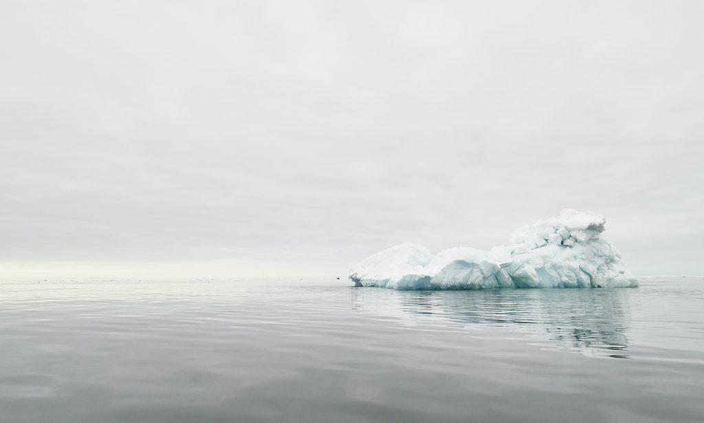 Lonely iceberg